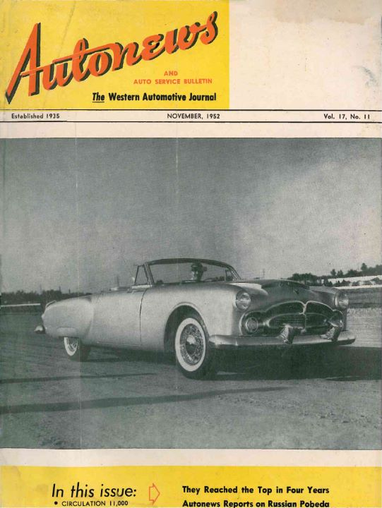 Autonews and auto service bulletin 11'1952